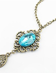 Hollow Out Crystal Necklace