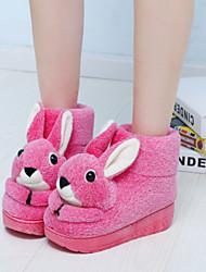 Loubo Women's Comfortable Causual Cute Rabbit Snow Boot