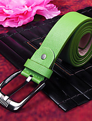 Lime Green PU Belt