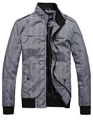 SMR Men's Fashion Stand Collar Jacket_8013