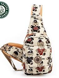 Daka Bear® mochila de lona moda mochila mochila