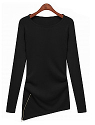 Mufans Women's Knitwear Long Sleeve Shirt 1450#