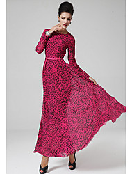 G.M Women's Vintage Floral Print Dress