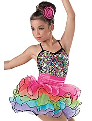 Ballet Dance Dancewear Children's Sequin Ballet Tutu Dress