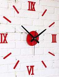 """Modern/Zeitgenössisch Anderen Wanduhr,Kreisförmig Acryl 10 x 10 x 8(3.9"""" x 3.9"""" x 3"""") Drinnen Uhr"""