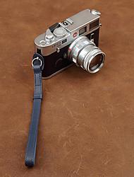 cam-in cam2099 genuino cinturino da polso in pelle per la macchina fotografica