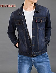 yhs®men vestes denim blazer tj901