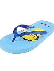 Zapatillas ( Azul/Amarillo/Verde ) - Deslizar/Comfort - Goma