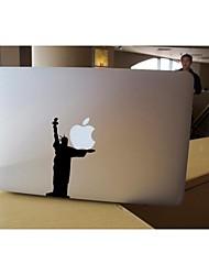 SkinAT amovible bricolage drôle mignon statue de la liberté et de la tablette autocollant portable pour vous et MacBook Air comprimé 135 * 205mm