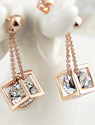Earring Stud Earrings Jewelry Women Gold 2pcs Gold / Silver