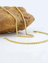 Jewelry Necklaces / Bracelets & Bangles Birthday / Engagement / Gift / Wedding / Party / Daily / Casual / Sports Copper Women GoldWedding