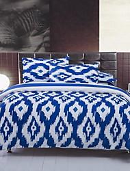 High Quality Soft Geometric Duvet Cover Set