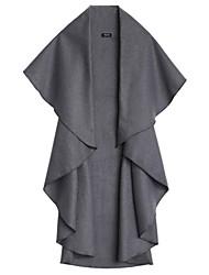 Women's Fashion Wool Noble Elegant Cape Shawl Coat