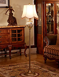 Floor Lamp Novelty Glass and Metal