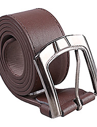 Dark Brown PU Belt