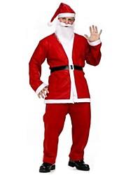 traje de la Navidad de secretos de santa hombres adultos