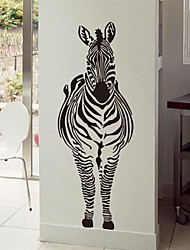 Wall Stickers Wall Decals,  Modern Zebra PVC Wall Stickers