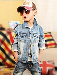 Boy's Denim Jacket & Coat,Winter Solid
