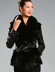 abrigo pc031 piel de Nina mujeres