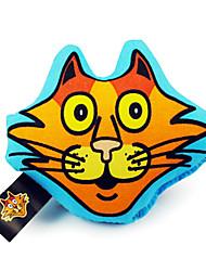 Gatos Juguetes Peluches Textil Amarillo / Morado / Naranja