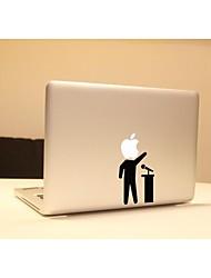 skinat novo removível diy engraçado ter um adesivo laptop fala para você tablet computador e MacBook Air 10 * 10