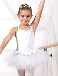 Ballet Dance Dancewear Kids' Cotton Sequined Ballet Dance Dress (More Colors) Kids Dance Costumes
