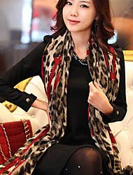 deseja lenço de seda de leopardo
