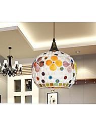 Household Lighting Personality Modern Lamp Metal Glass droplight Lamp Shade Electroplating 1 Light