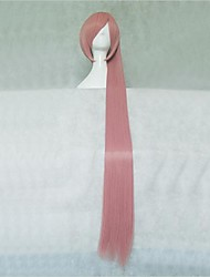 VOCALOID Akita Neru Pink Long Cosplay Wig
