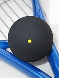 fangcan un punto amarillo de alta calidad de squash negro bola 1 pieza