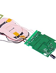 Professional QI Wireless Charger PCBA Circuit Board w/ Wireless Charging 3-Coil Accessory for DIY