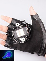 л-405-532 перчатки зеленый и фиолетовый лазерный указатель (1 мВт, 532, 1xlithium батареи, черный)