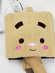 Heated Creative Square Face Cartoon Pattern USB Warmer Mouse Hand Warmer