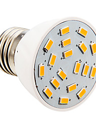 Ampoules Bougie Blanc Chaud E26/E27 4 W 18 SMD 5730 280 LM 2500-3500 K AC 110-130 V
