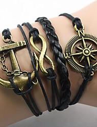 Bracelet Bracelets Wrap Tissu Ancre Inspiration Soirée / Quotidien / Décontracté / Sports Bijoux Cadeau