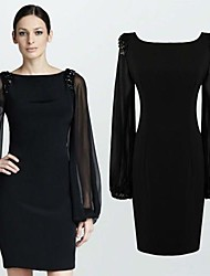 Women's Dresses,Vintage / Sexy / Bodycon / Casual / Party / Work Long Sleeve