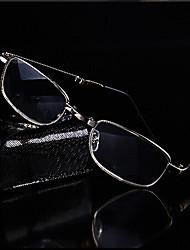 [Free Lenses] Metal Rectangle Full-Rim Classic Reading Glasses