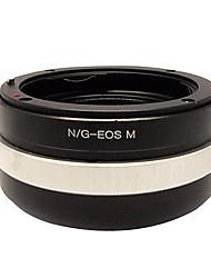 Jaray Nikon-EOS/M  Adapter Ring for Canon EOS M