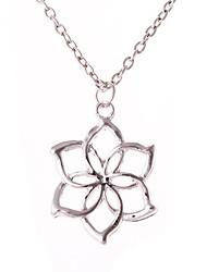 les six anneaux de femmes sont pétales collier (1ps)