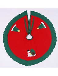Christmas Tree Skirt Carpet Christmas Decoration(Random)
