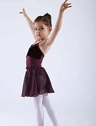 Kids' Dancewear Tops / Tights Children's Cotton / Velvet Ballet Sleeveless