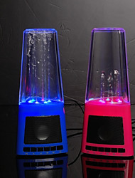 USB Speaker with LED Fountain