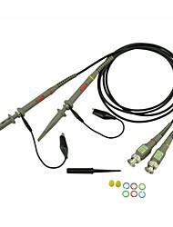 la sonde de l'oscilloscope p6020 20MHz atténuation 01h10 (2pics)