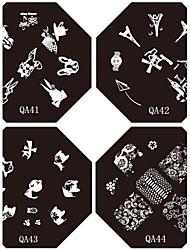 100pcs Mehrfarben-Nagelkunst Rollen Striping Bandleitung