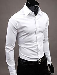 MEN - Camicie casual - Informale Felpa con cappuccio/A camicia - Maniche lunghe Misto cotone