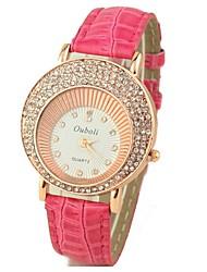 relógio de forma alto grau cinto de strass multa de yuko mulheres