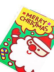 retrò bella Babbo Natale cartoline di Natale (5pcs)