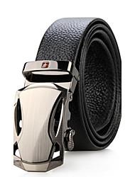 SWISSGEAR® Automatic Buckle Waist Strap Famous Brand Belt Buckle