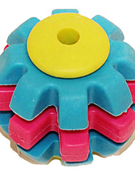 mascotas molares no tóxicos naturales tres juguetes de bolas de colores