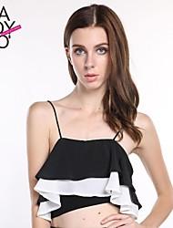 Women's Black Vest Sleeveless